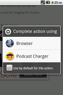 PodcastCharger - screenshot thumbnail