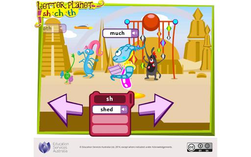 玩免費教育APP|下載Letter planet: sh, ch, th app不用錢|硬是要APP