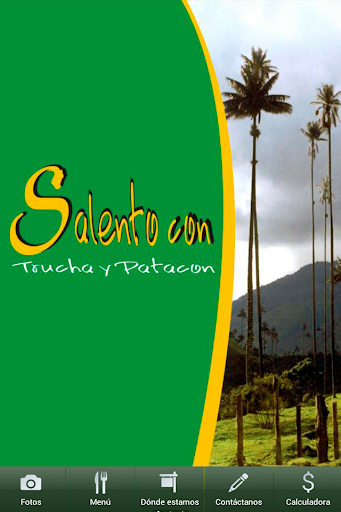 Salento Con Trucha y Patacón