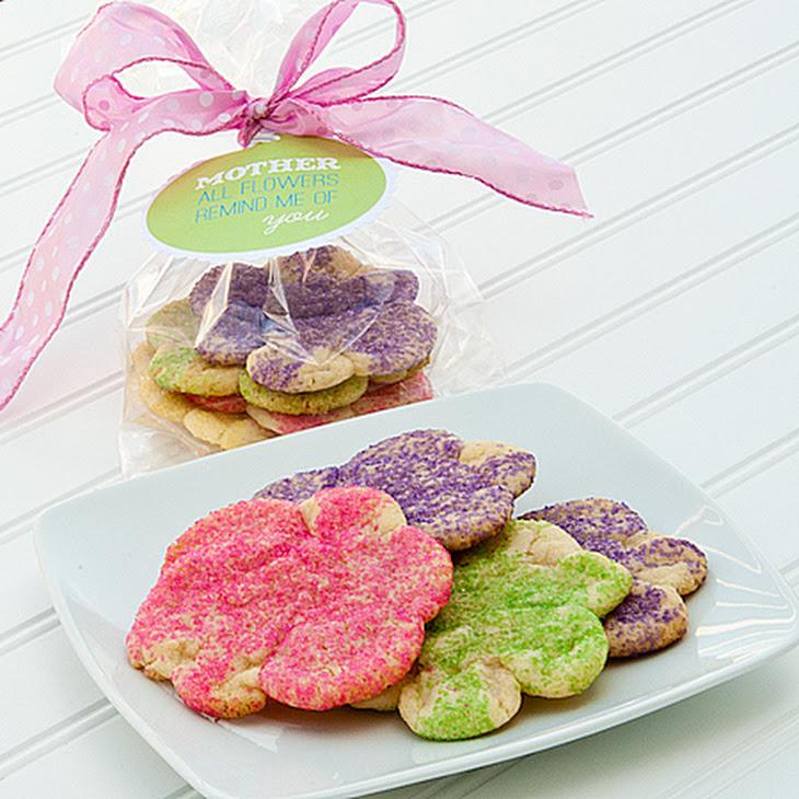 Easy Flower Sugar Cookies Recipe