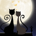 Galaxy S4 Love Cats Wallpaper icon