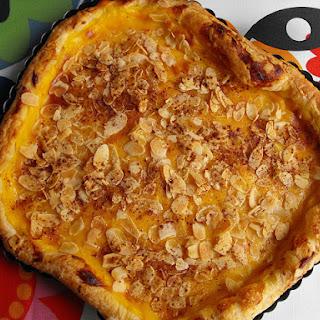 Apple Pie with Custard Cream.