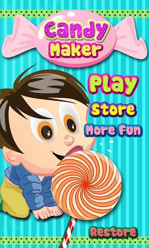 糖果制造商-孩子们的游戏