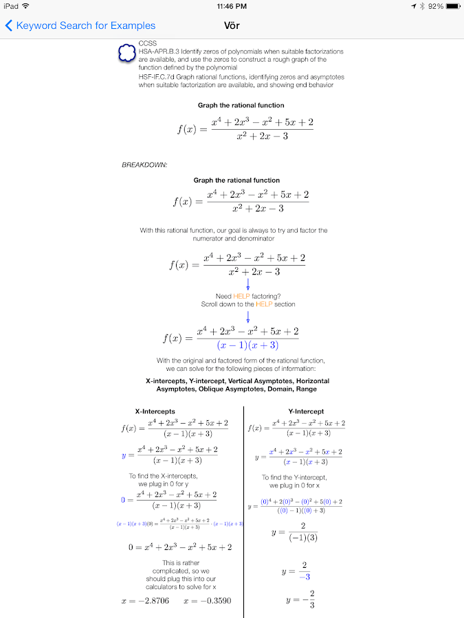 Vör Algebra 2- screenshot
