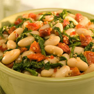 White Beans With Sun-dried Tomatoes.
