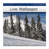 Snowfall Scene Live Wallpaper