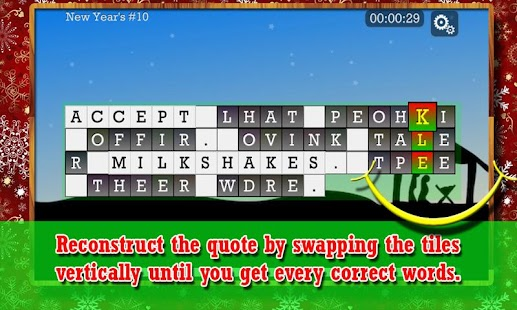 WORD PUZZLE for the HOLIDAY- screenshot thumbnail