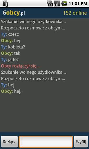 rozmowy z nieznajomymi Płock
