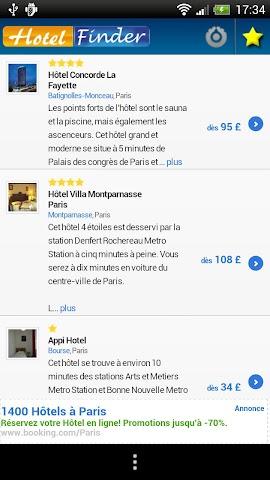 Screenshot 2 Hotelsuche: Hotel vergleich!