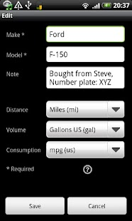 FuelLog - Car Management Screenshot 8