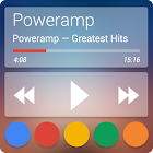 Skin for Poweramp v2 Now Transparent icon