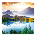Montagnes Fond Animé icon