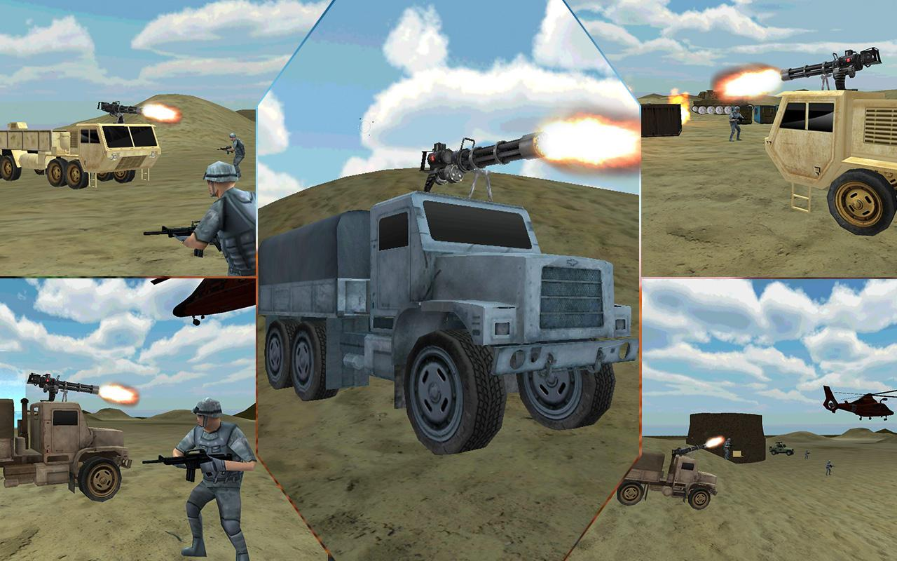 Desert-Military-Base-War-Truck 19