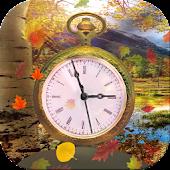3D Clock Autumn!