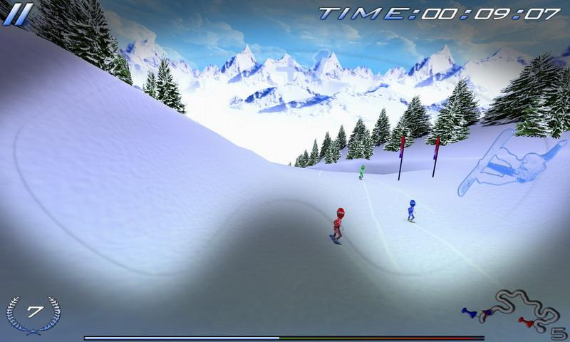 Snowboard Racing Ultimate Free- screenshot