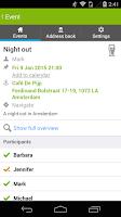 Screenshot of Datumprikker