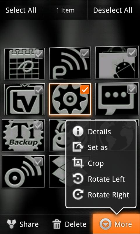 Orange Octane for CM7 (Donate)- screenshot