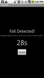 CRADAR screenshot