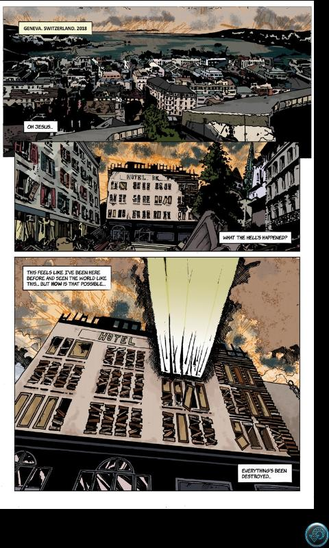 Collider Comics - screenshot
