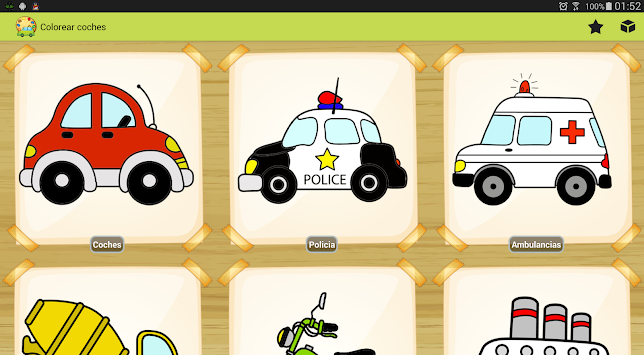 Mewarnai Mobil Permainan Apk 1 0 Pendidikan Gratis Screenshot Truk