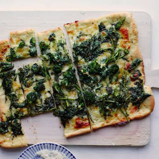 A Totally Foolproof Broccoli Rabe Pizza.