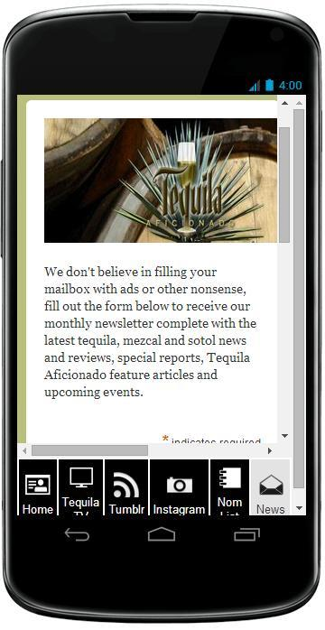 Tequila Aficionado - screenshot