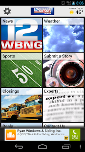 WBNG TV Binghamton - screenshot thumbnail