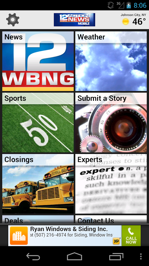 WBNG TV Binghamton - screenshot