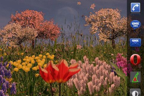 Spring Flowers Live Wallpaper- screenshot