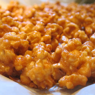 Sinfully Delicious Caramel Corn.