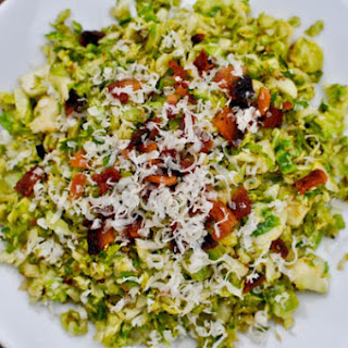 Shredded Sprouts Salad.