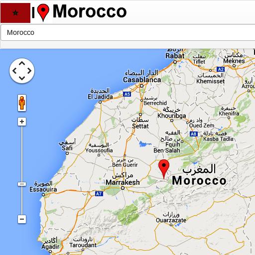 Morocco mapa