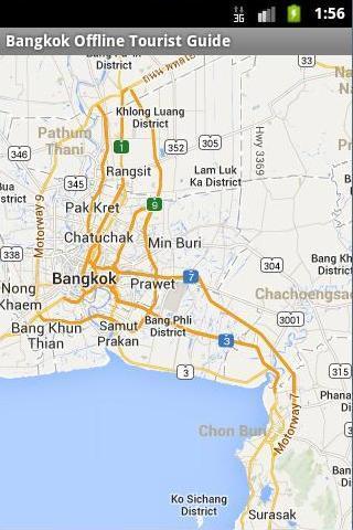 Bangkok Offline Tourist Maps