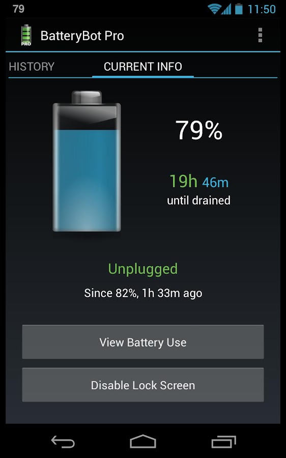 BatteryBot Pro - screenshot