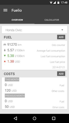 【免費交通運輸App】Fuelio Pro Key / Donate-APP點子