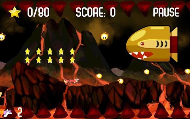 Jumpy Fox - screenshot