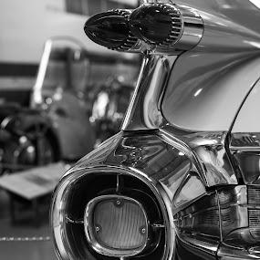 Vintage car by Christine Schmidt - Black & White Objects & Still Life ( car, vintage, leica )