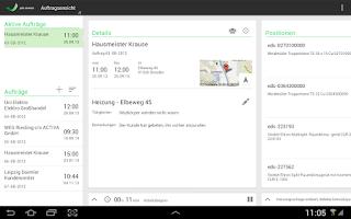 Screenshot of pds service