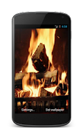 Screenshot of Fireplace Video Live Wallpaper