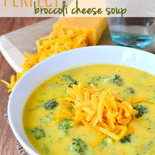 Perfect Broccoli Cheese Soup.