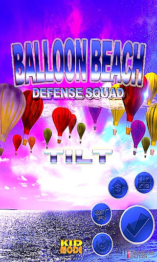 Balloon Beach Defense Squad