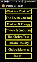 Screenshot of Chakra Test for Health (Full)