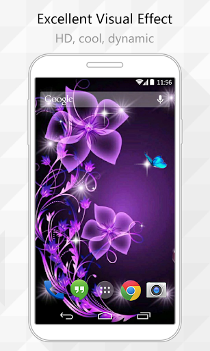 Splendor Flower Live Wallpaper