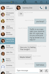 SMS Text Messaging from Tablet Screenshot 11