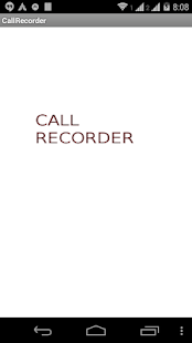 Droid Call recorder