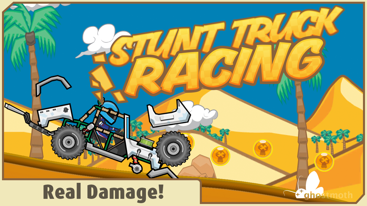 Stunt Truck Racing - screenshot