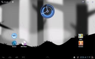 Screenshot of Dark Forest Live Wallpaper