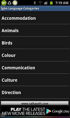 Learn to speak Igbo Language - screenshot