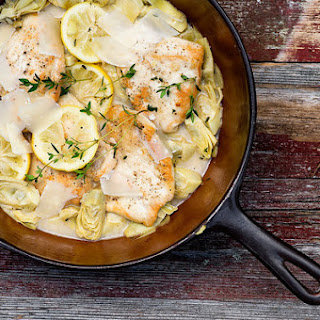 Lemon Chicken with Artichokes Recipe