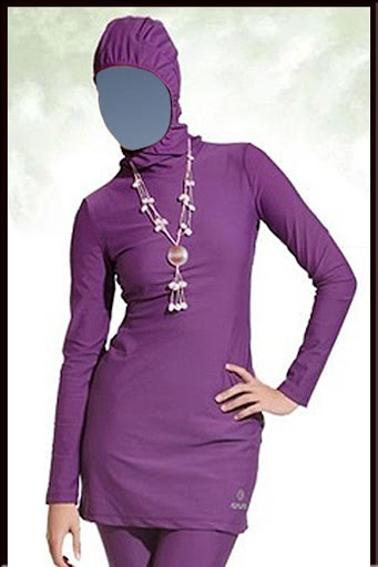 Burka Woman Fashion Photo